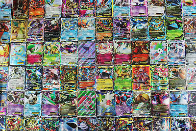 Pokemon TCG : 40 RARE OFFICIAL CARDS w/ a GUARANTEED EX, GX, or MEGA EX + HOLOS