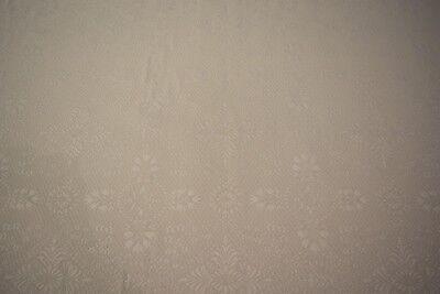 - Ivory Natural Matelasse Jacquard Upholstery Fabric 56