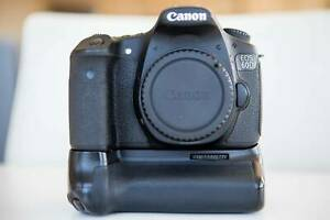 Canon 60d with Battery Grip