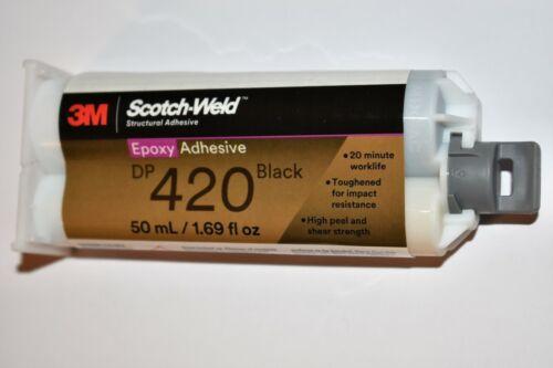 3M Scotch - Weld Epoxy Adhesive  DP420 Black 1.69 fl oz (50ml)