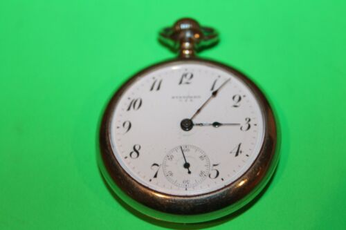 NICE NEW YORK STANDARD  POCKET WATCH - NOT RUNNING