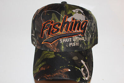 Anglerkappe Cap Kappe Mütze Camouflage Fishing Angler Mütze Angeln # 100