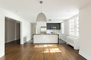 GORGEOUS 5½ IN WESTMOUNT - NATURAL FIREPLACE