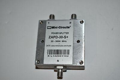 Mini-circuits Zapd-30-s Power Splitter 20-3000mhz  Aj36