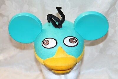 """RARE Angry Birds Disney Ears Hat Cap One Size embroidered """"Rory"""" FREE SHIPPING"""