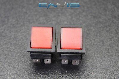 2 Pcs Rocker Switch Dpdt On Off On Toggle 15 Amp 250v 20 Amp 125v 6 Pin Ec-2636