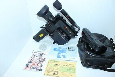 CANON 514 XL-S Super 8MM MOVIE CAMERA / Micro BM50 CANOSOUND +Manuel