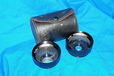 Vivitar 35mm Telephoto Wideangle Camera Lens Lenses Wide-Angle SLR Photography