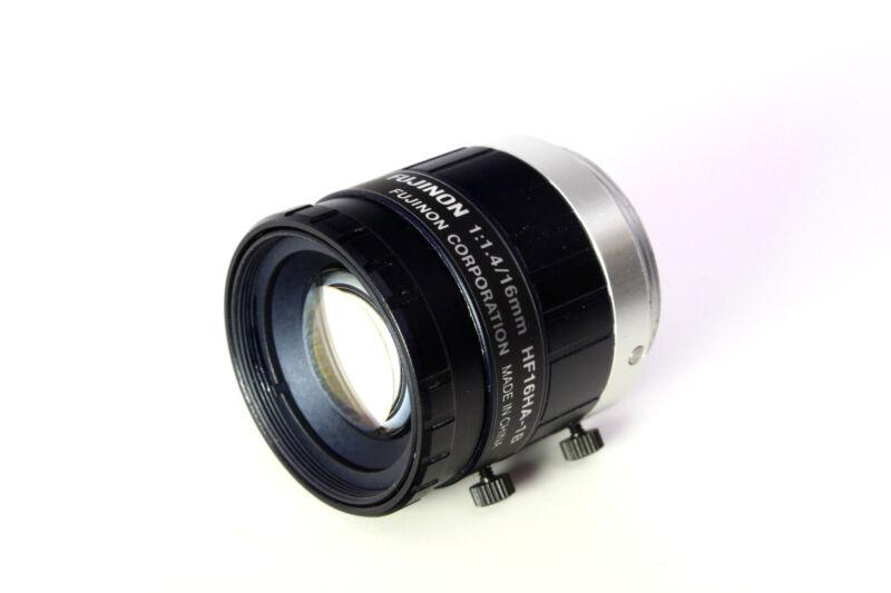 Fujinon Machine Vision Lens 16mm F1.4 Hf16ha-1b Machine Vision Camera