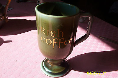 IRISH PORCELAIN IRISH COFFEE MUG