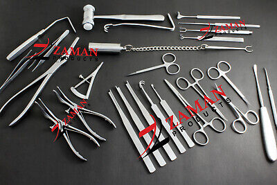 Rhinoplasty Instruments Nose Surgery Instruments 25 Pcs Set By Zaman Products