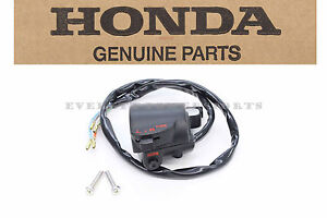 New Left Switch Assembly 70s CB CL Genuine Honda OEM Horn Turn Signal Notes #a49