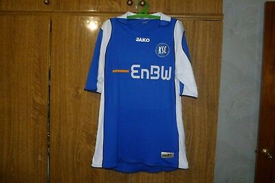 Karlsruher SC Jako Football Shirt Away 2007/2008 Germany Soccer Jersey Size M ? image