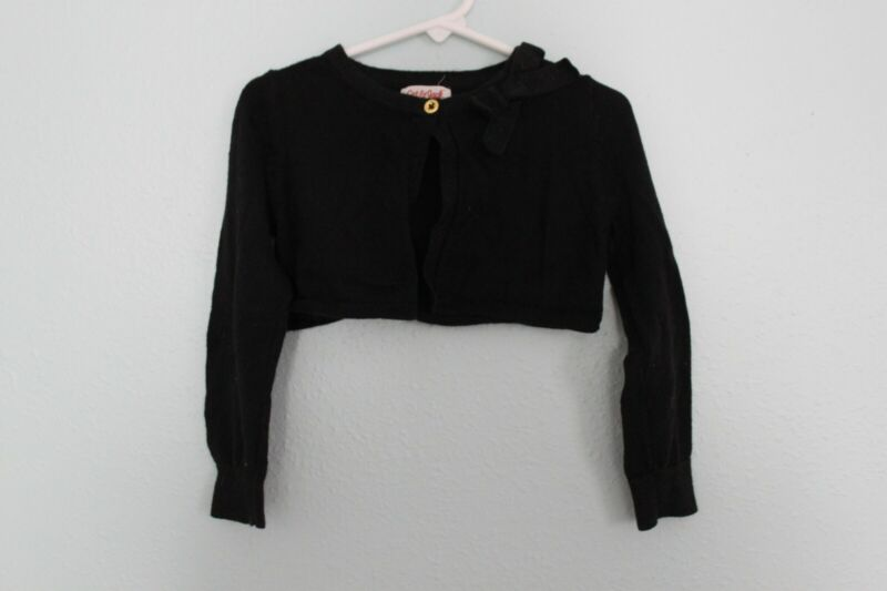 Cat and Jack Black Dressy Shrug Cardigan Size 3T
