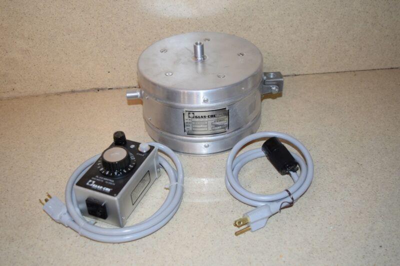 ^^ GLAS-COL 102B 1802000001 HEATING MANTLE W/ PL-312 MINITROL -NEW?