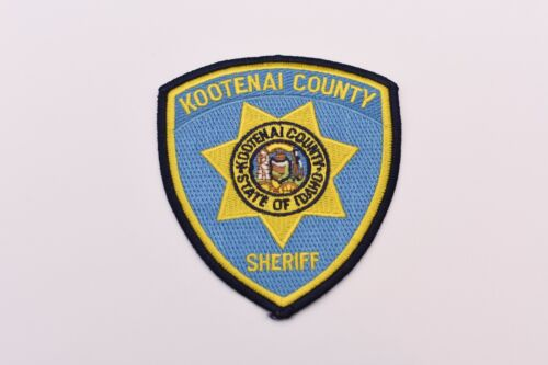 Kootenai County Idaho Sheriff Collectible Police Shoulder Patch