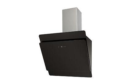 hotte DE cuisinière Dôme sans tête EEK: A 60cm noir acier inox-verre circulant