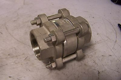 New Socla 1-12 Stainless Steel In-line Check Valve Model F812x-40