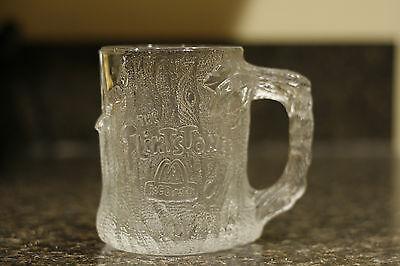 McDonald's Flintstones Treemendous Mug Glass 1993 Collectible