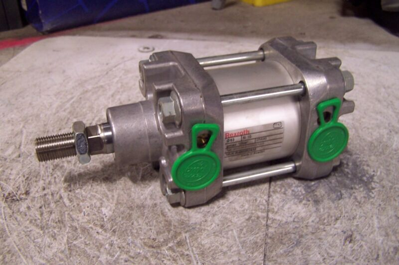 """NEW REXROTH R480052932 PNEUMATIC CYLINDER 2-5/8"""" BORE 1/4"""" STROKE 3/8"""" PORT"""