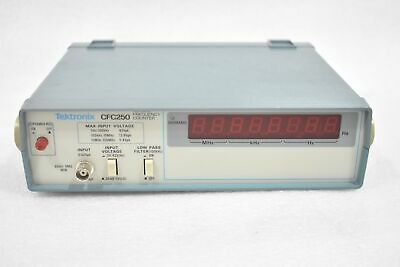 Tektronix Cfc250 100mhz Frequency Counter With Power Supply