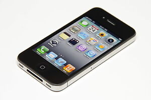New In Retail Box Overstock Verizon Apple iPhone 4 32 GB Black Smartphone