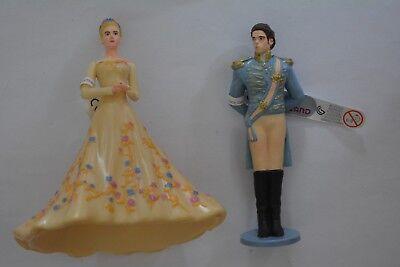 Bullyland Disney Princess / Prinzenpaar Cinderella + Märchenprinz 13050 13052