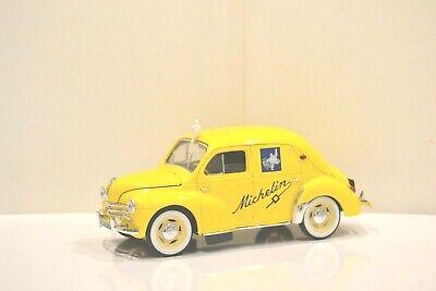Solido Michelin 1/17 Renault 4CV. 1954 berline tôlée 4 portes Réf. 82002.
