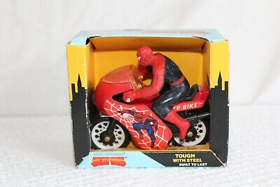 1981 Buddy L Spider Cycle SpiderCycle Motorcycle Super Hero's Vehicle New in Box