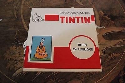 TinTin in America Stickers Decals French