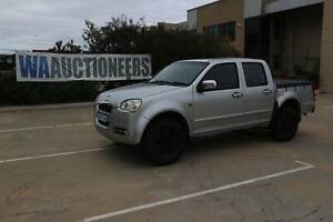 2010 Great Wall V240 4x4 Dual Cab Ute - CURRENT AUCTION Wangara Wanneroo Area Preview
