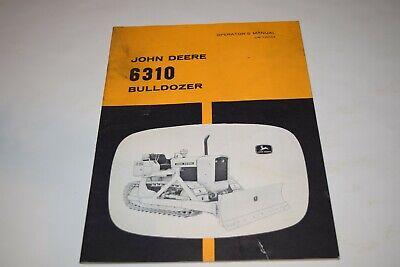 John Deere 6310 Bulldozer Operators Manual