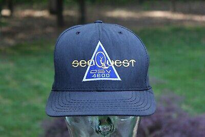 SeaQuest DSV 4600 Snapback Hat Made USA