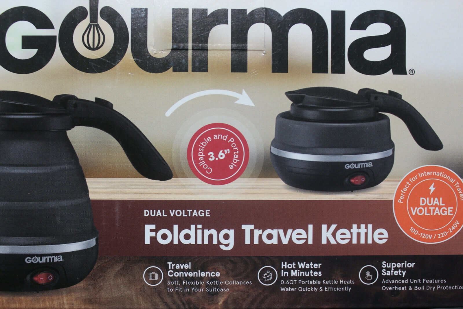 Gourmia GK320B Electric Kettle