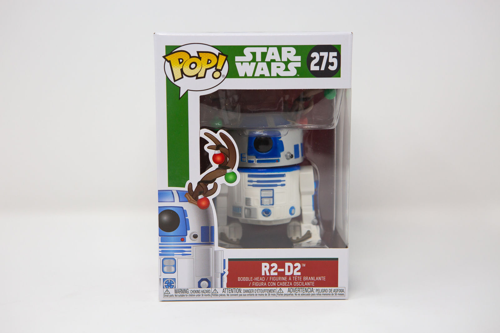 Holiday r2-d2 w//antlers #33891 Funko pop