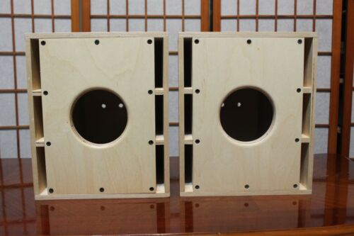 Mini Onken Speaker Cabinet for 4 Inch Fullrange Speakers -- One Pair