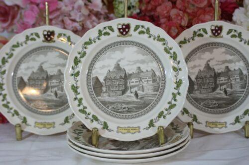 "Wedgwood, ""Ivy House Works"" Dessert/Salad Plates (6) RARE!!!!"