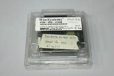 Winsystems Pcm-vdx-4744b Pc104 Single Board Computer System