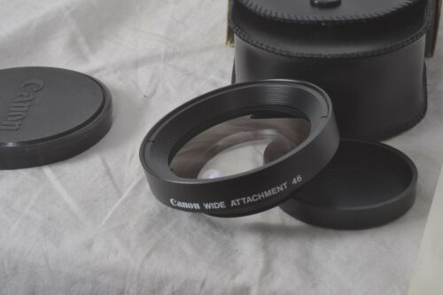 Canon camera lens wide attachment nos
