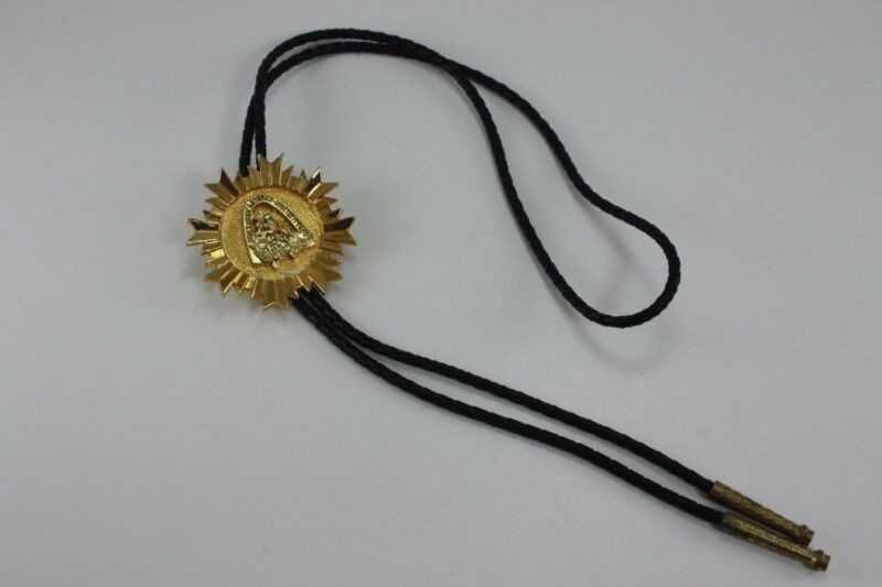 VINTAGE Royal Order of Jesters Freemasons BOLO TIE ST LOUIS BILLIKEN Collectible