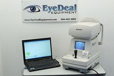 Topcon Kr 8000pa Autorefractor Autokeratometer Topography Laptop Wcolor Mapping