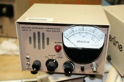 Eberline Radiation Monitor Rm-21-2