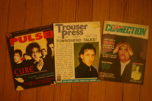 Magazine Lot the Cure Robert Smith Pulse Trouser Press Music Connection Who Kiss