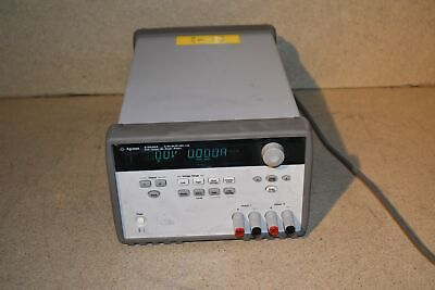 Agilent E3646a Dual Output Dc Power Supply 0-v 3a Tp2