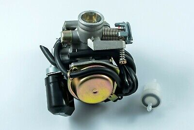 Carburettor Carb 125cc 4 stroke Scooter Automatic Choke & FREE fuel filter  for sale  United Kingdom