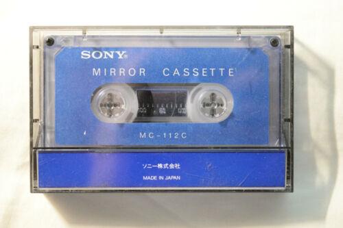 Sony Mirror Cassette Test Tape MC-112C cassette path checker