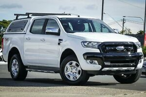 2017 Ford Ranger PX MkII 2018.00MY XLT Double Cab White 6 Speed Sports Automatic Utility Greenacre Bankstown Area Preview