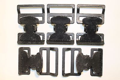 Military Web Strap T Buckle, Spring Loaded, 1 1/2