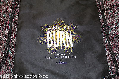 ANGEL BURN Novel by L. A. Weatherly - BOOK PROMO BAG - DRAWSTRING BACKPACK - NEW