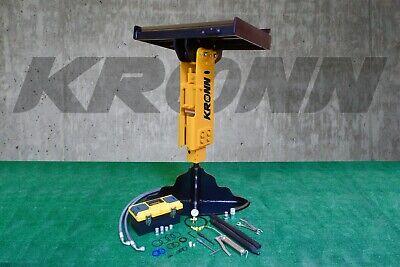 Kronn Hydraulic Hammer Breaker 36 Wide Plate Fit To Bobcat S70 Skid Steer Rh-45